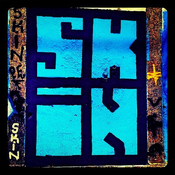 #skin #graffitiart #streetarteverywhrere #riodejaneiro #arteurbana
