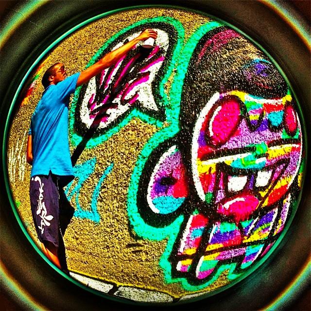 #sockppxi #streetartrio #djonereal @marygirlstyle #humaita #graffiti