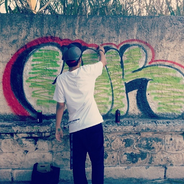 #streetartrio #graffitirj #bomb