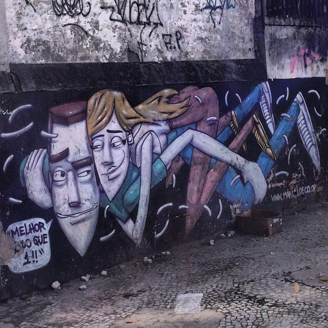 #streetartrio #marceloeco