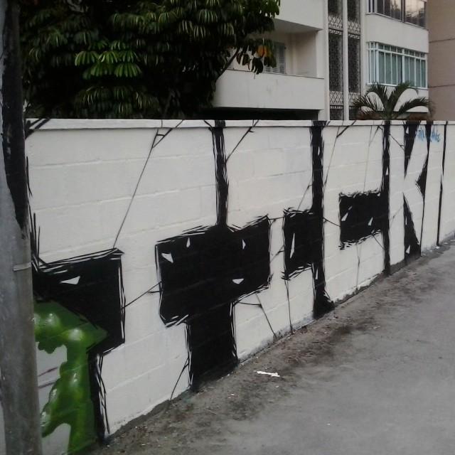 #streetartrio #riodejaneiro #tickrjgraf #rua