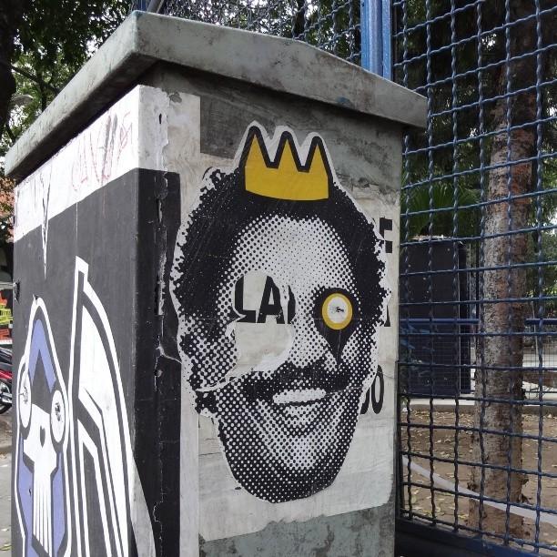@rafocastro wheat paste: Black Metal ripped by Death. Haha!!! #rafocastro #rafo #lambe #lambelambe #coladefarinha #wheatpaste #pasteup #muralart #posterart #urbanart #streetart #artederua #arteurbana #streetartrio #riostreetart