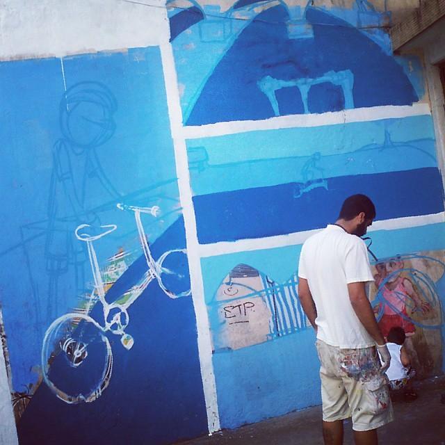 Antes... #caze #streetartrio #graffiti