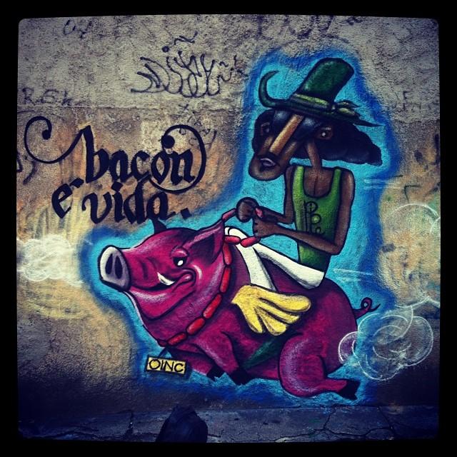 Hoje na paz, com o brother @ftamanini OINC e PIPE #grafite #graffiti #spray #sprayart #streetart #spraypaint #tijuca #montana #94 #arteurbana #colorgin