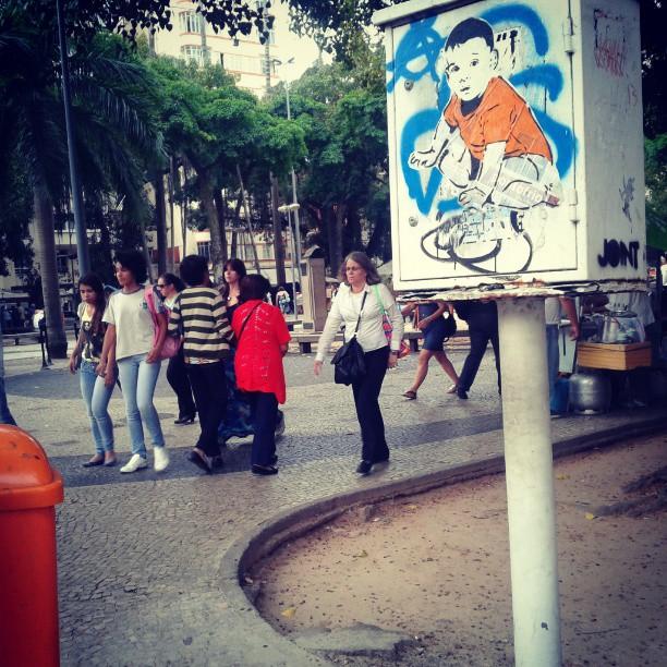 Largo do Machado. #streetartrio #streetart #stencilart