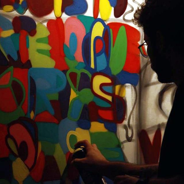 Making off @artecore by my friend @madeira_photo #henriquemadeira #artecore #streetartrio #spraypaint #colors #cores #rj #rio #riodejaneiro #marceloment #mentone #graffiti