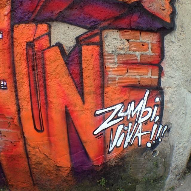 Máximo respeito!!! #zumbi #rio #rj #riodejaneiro #mentone #marceloment #carioca #vidigal