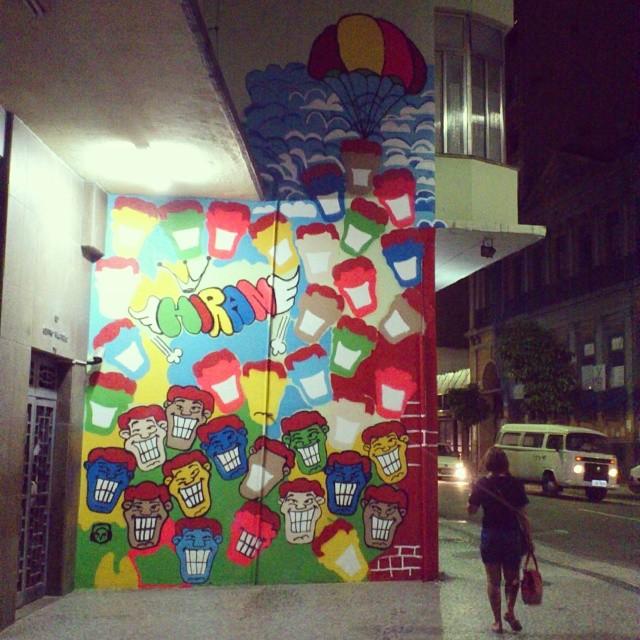 O processo é lento.... #angatu #muralangatu #lapa #riachuelo #riodejaneiro #amigers #entreamigos #streetartrio #streetart #rsa_grafite #cool