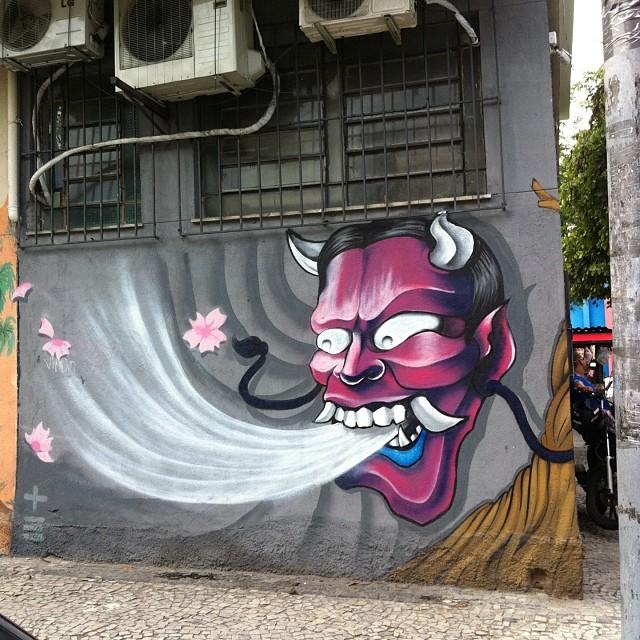 Por Sonbil #streetartrio #art #streetart #artederua