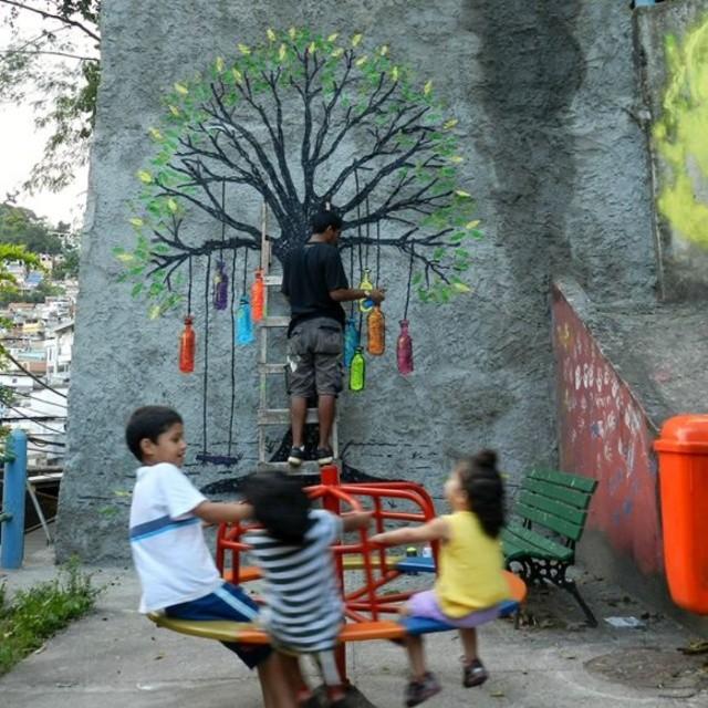 Pra ser feliz. #streetartrio. #tickrjgraf #riodejaneiro