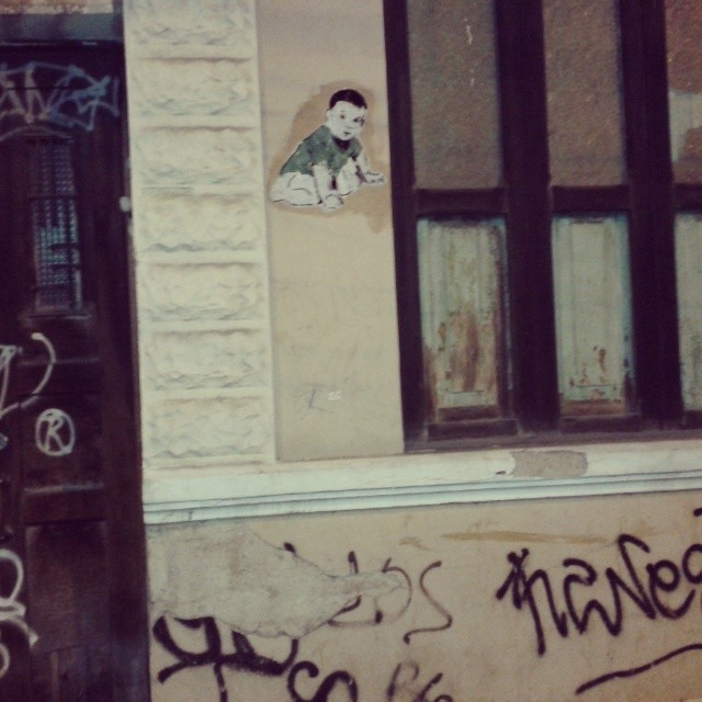Rua Campos Sales. #streetartrio #streetart #sticker #stencilart