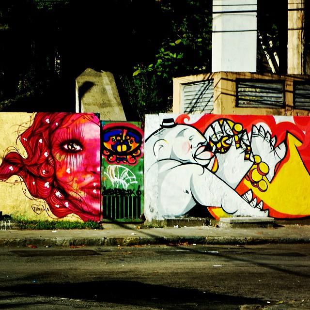 Wall by @panmelacastro @idolnoproject @rafadoria