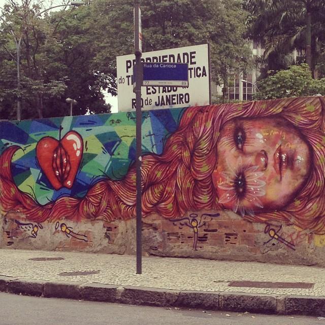 amei #streetart #streetartrio