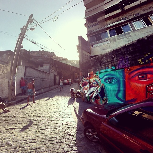 favela Vidigal in Rio - checked! Thanks to @marceloment and #tarm for making it all possible!