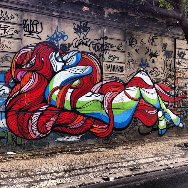 foto de @ArteRuaRio & arte de rua de @brunobig | #ArteRuaRio