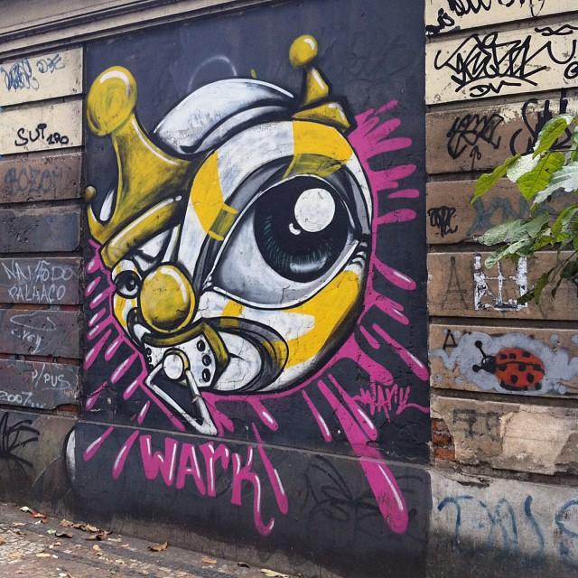 foto de @ArteRuaRio & arte de rua de @warkrocinha | #ArteRuaRio #wark #warkdarocinha