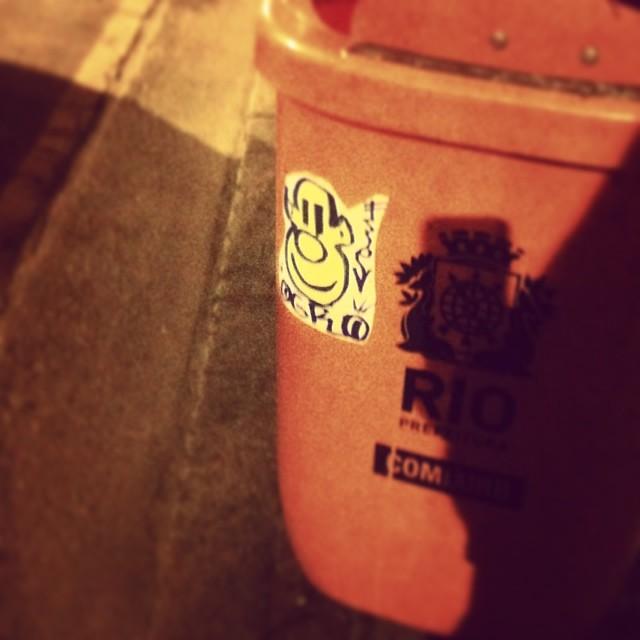 #ogro #rjstickers #brasilstickers #stickers #rj #rio #ilovemarkers #ilovestickers #handstyle #graffrio #streetartrio #streetrj #artderua #urbanart #arteurbana #sharpie #pilot