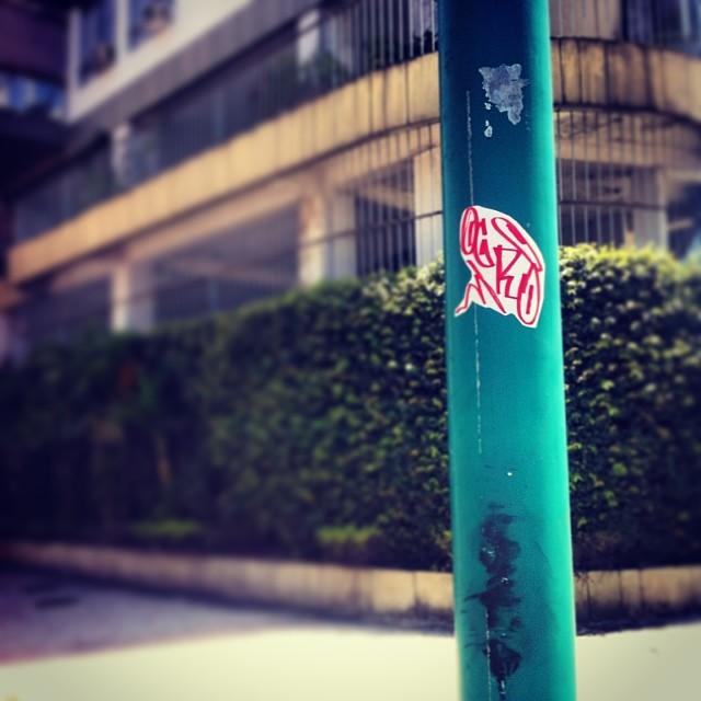 #ogro #rjstickers #brasilstickers #stickers #slaptag #slap #ilovemarkers #ilovebombing #ilovestickers #handstyle #adesivandoasruas #street #rua #streetartrio #streetart #artederua #arteurbana #urban #urbanart #rj #terapia #vicio #streetartbrasil #rjstreet #graffrio