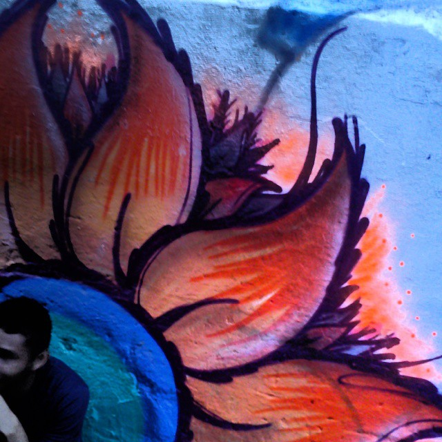 #streetartrio flores no turano