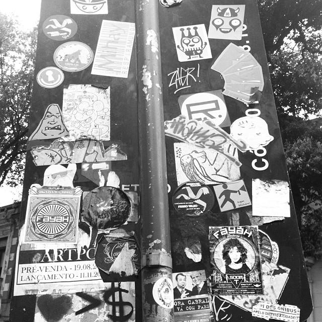 A rua é nós #streetartrio #rioetc #rioeuteamo #riodedezembro #lapa #art #arte
