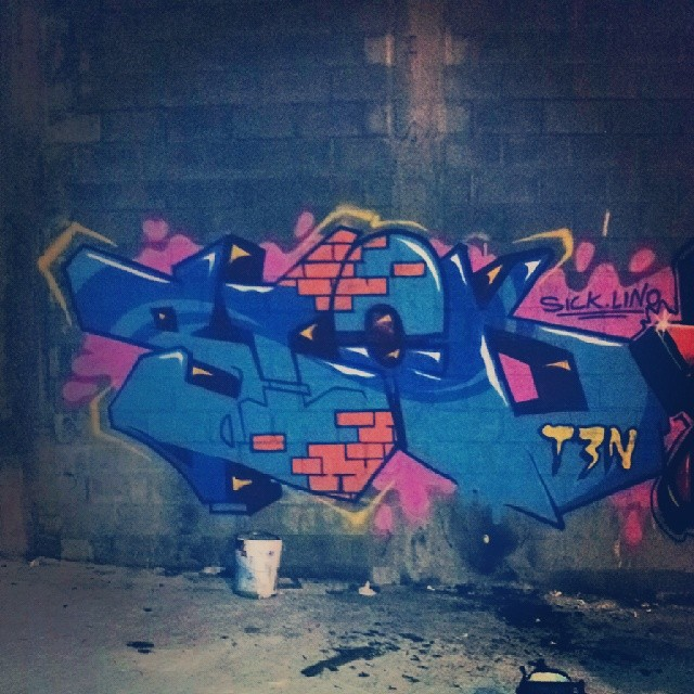 Agora pouco com @lino339 #graffitirj #graffiti #graff #spraycanart #artwork #throwie #throwup #wild #wildstyle #streetart #streetartrio