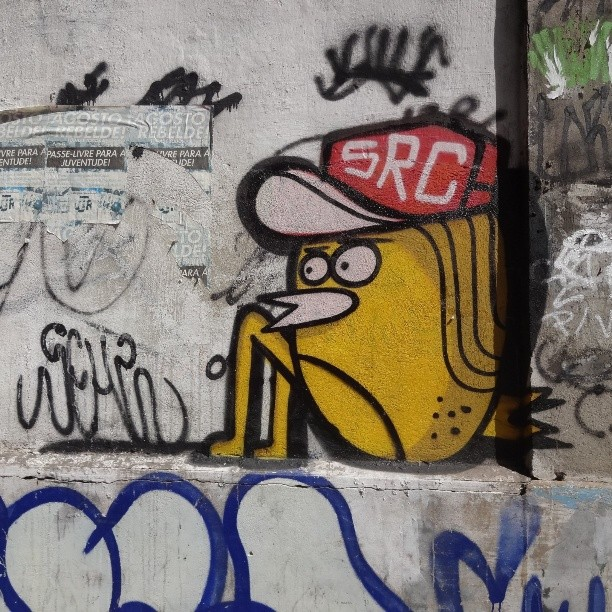 Clessio sitting on the wall by @igorsrcnunes . #igorSRCnunes #clessio #riostreetart #streetartrio #urbanart #graffitiart #streetart #artederua #arteurbana #graffitibrasil