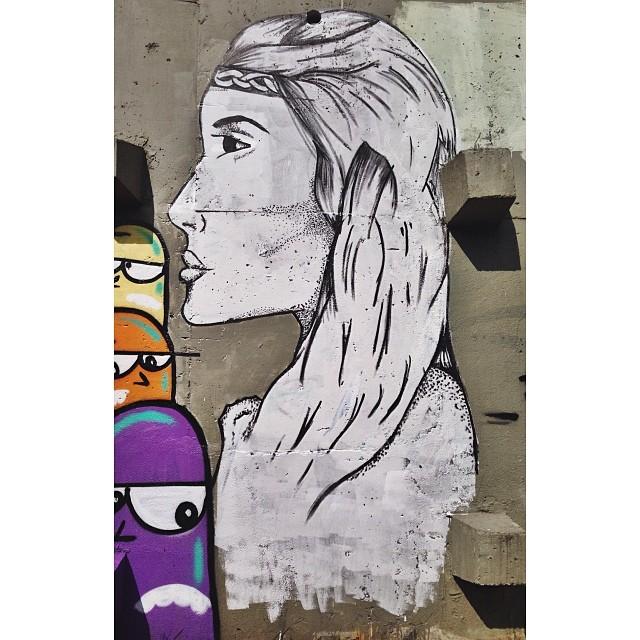 Detalhe, pontilhismo na parede #streetartrio #instagrafite #png