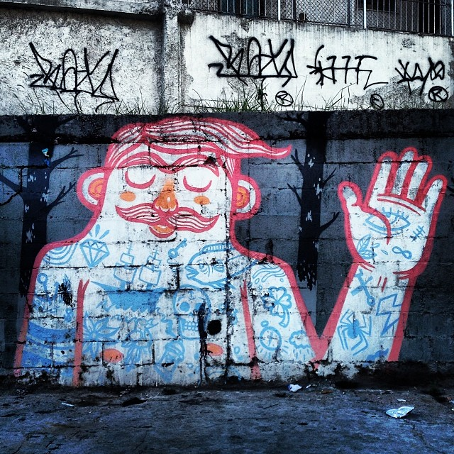 I promise... #grafite #instagrafite #streetartrio @streetartrio #arte #artederua