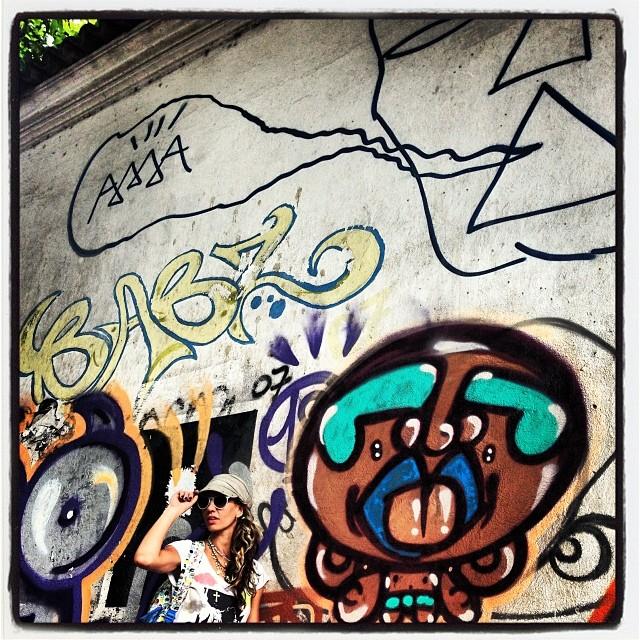 Partiu 2014 @marygirlstyle #gaisama #djonereal #brunaa #hipica #sockppxi #streetartrj #streetartrio #crew