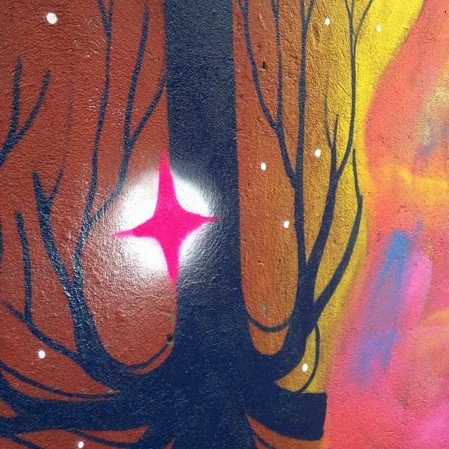 Pintando laranjeiras #streetartrio