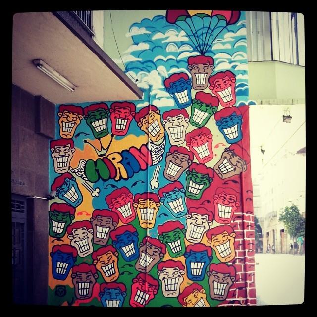 #StreetArtRio Rua do Riachuelo