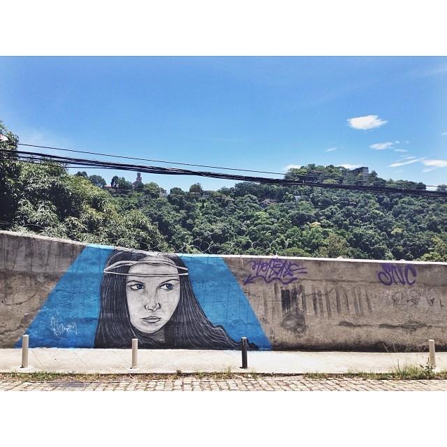 Trabalho finalizado  • Cosme Velho - RJ #instagafite #streetartrio #png