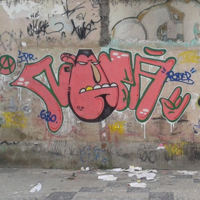 Viva o bomber #artistasurbanoscrew #streetartrio #nobã #ipr #630