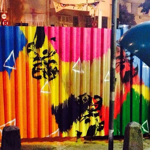 #denne72 #denne #projetocdr #eduardodenne #streetartrio #2013 #graffite #stencil #gaiaarteecafe #leme #contemporaryart #rua