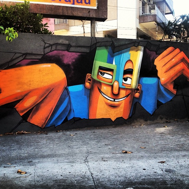 @marceloeco #graffrio #grafite #streetartrio #murosdorio #artelivre