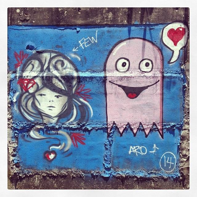 Alto da boa vista! #streetartrio