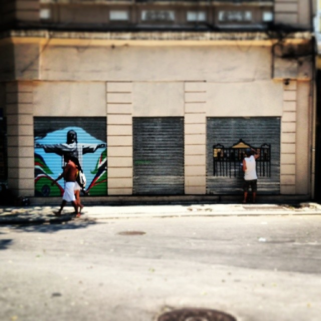 Arte no #Rio. #RJ #streetart