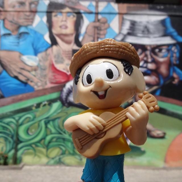 Chuck Billy is inspired by Lapa bohemia. #chicobento #chuckbilly #turmadamonica #monicasgang #mauriciodesouza #boemia #lapa #bambasdalapa #riostreetart #streetartrio #urbanart #graffitiart #streetart #artederua #arteurbana #graffitibrasil #riodejaneiro