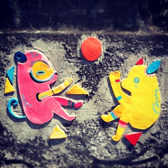 Coisa linda <3 #streetartrio #streetart