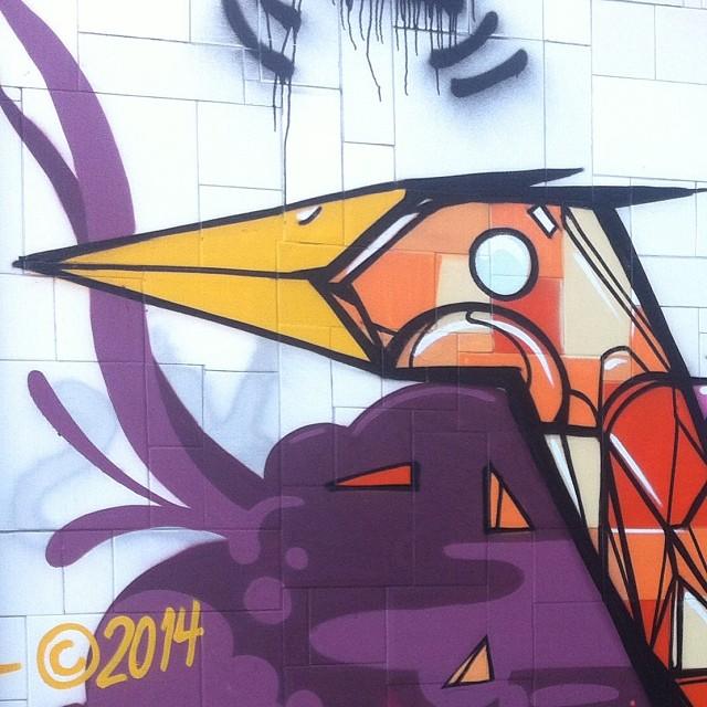 Detalhe #streetartrio #marcelolamarca #copacabana