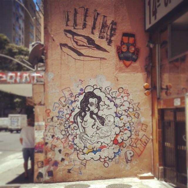 Esses caras. #PXE #StreetArt #ArteDeRuaRJ #ArteDeRua #Grafitti.
