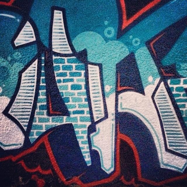 Graff novo! 2014 começou com tudo!!! Junto com Ton, Swop, Tmotz, Ted e Meton! #duke #streetartrio