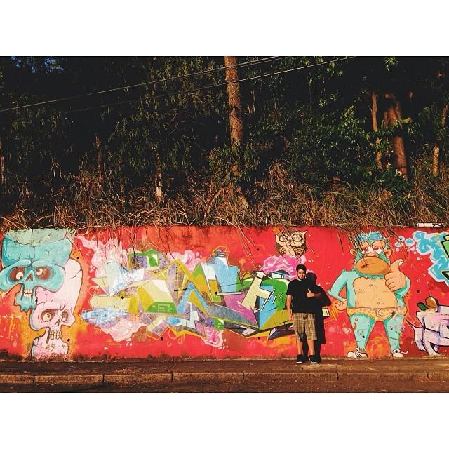 Joinha? #vscocam #grafitti #streetartrio