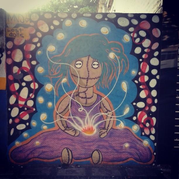 Lost Dolls #bomdia #StreetArtRio #barra #grafitti #artrio #arterio #urbanarts #arteurbana #almadasruas #asruasfalam #dolls #lost #cor #zoeste #streetart