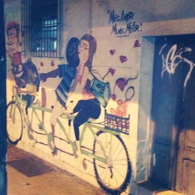 Mais amor, menos motor #streetartrio
