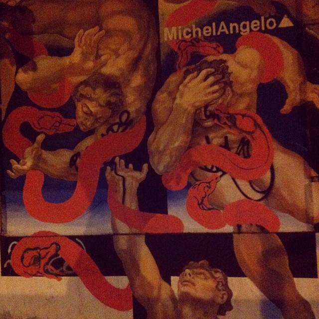Michelangelo pixador #streetartrio