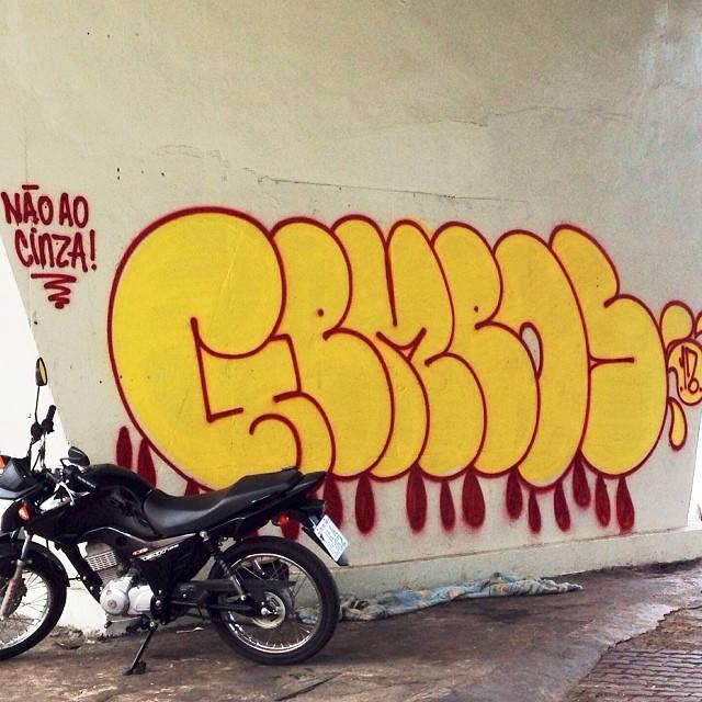 Não ao Cinza - @osgemeos