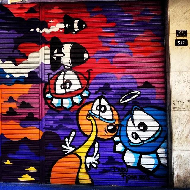 No detalhe! #grafite #dudurosa #graffrio #murosdorio #artelivre #streetartrio
