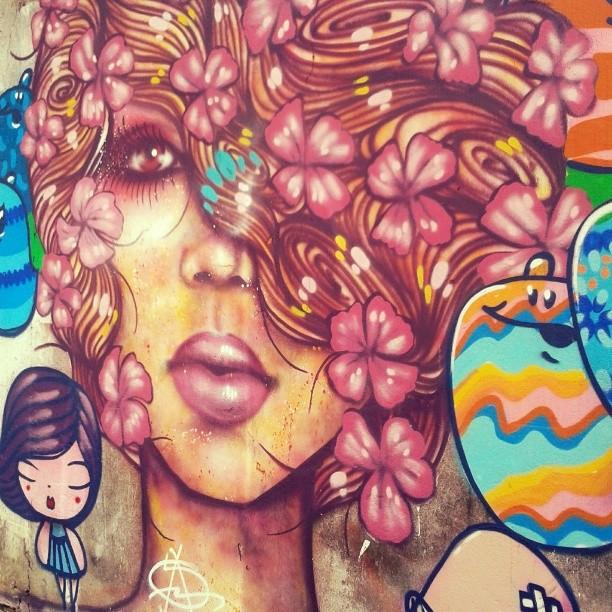 Os muros, sempre eles. #streetartrio