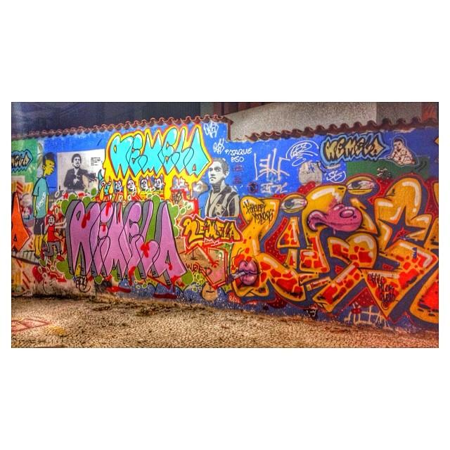Pelas paredes do Flamengo